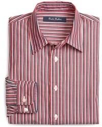 Brooks brothers vertical stripe sport shirt medium 32003