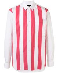 Comme Des Garcons Homme Plus Comme Des Garons Homme Plus Striped Cotton Shirt