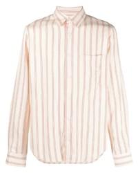Sandro Paris Flow Stripe Print Shirt