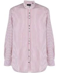 Joseph Jarvis Pinstripes Mix Shirt