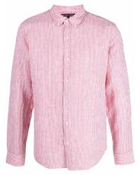 Michael Kors Michl Kors Striped Button Up Shirt