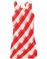 Stella McCartney Striped Sheer Knit Top