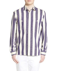 WAX LONDON Fit Stripe Shirt