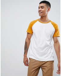Pier One Raglan T Shirt In Yellow