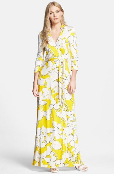 Floral-printed dress Diane Von F dIanxc22Jv