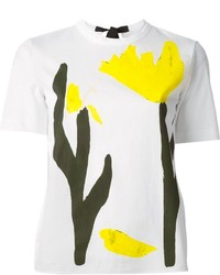 Marni Tulip Print T Shirt