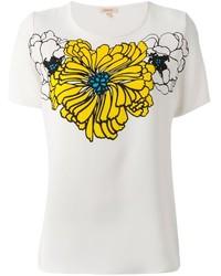 P.A.R.O.S.H. Flower Printed T Shirt