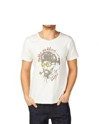 Tee Library The Reason Of Yellow T Shirt White