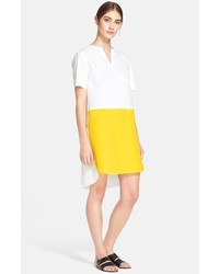 Short sleeve colorblock dress medium 224775