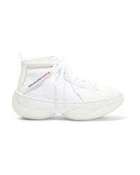 Alexander Wang A1 Med Mesh High Top Sneakers
