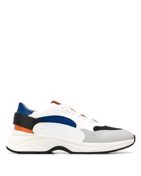 Santoni Colour Block Sneakers