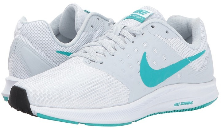 official photos 4ce17 a1725 ... White Athletic Shoes Nike Downshifter 7 Running Shoes ...