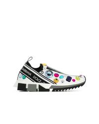 Dolce & Gabbana Embellished Slip On Sneakers