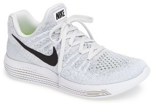 online store fdf00 8ed5f ... White Athletic Shoes Nike Lunarepic Low Flyknit 2 Running Shoe ...