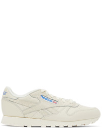 Awake NY Off White Reebok Edition Classic Leather Sneakers