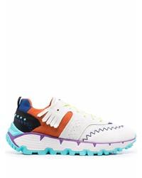 Etro Paisley Jacquard Paneled Sneakers
