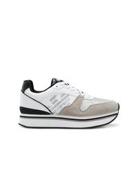 Emporio Armani Platform Runner Sneakers