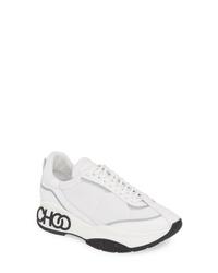 Jimmy Choo Raine Logo Platform Sneaker
