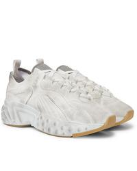 Acne Studios Rockaway Distressed Suede Sneakers