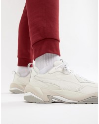 Puma Thunder Desert Trainers In White 36799703