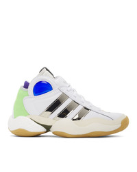 Sankuanz White Adidas Edition Crazy Byw Sneakers