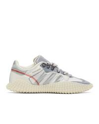 Craig Green White And Grey Adidas Edition Cg Polta Akh I Sneakers