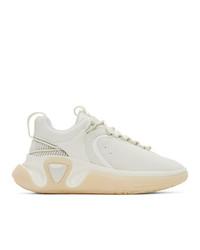 Balmain White B Runner Sneakers