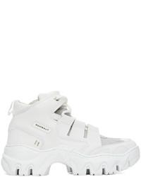 Rombaut White Boccaccio Ii Future Leather Riot Low Sneakers