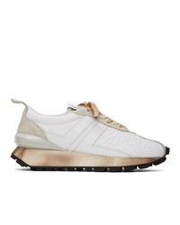 Lanvin White Bumper Sneakers