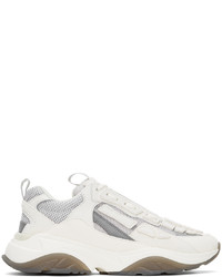 Amiri White Grey Bone Runner Sneakers