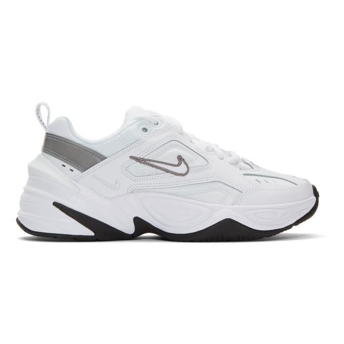 Nike White M2k Tekno Sneakers, $92