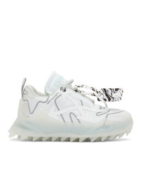 Off-White White Mesh Odsy Sneakers