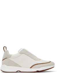 Loro Piana White Modular Walk Sneaker