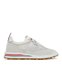 Thom Browne White Tech Runner Sneakers
