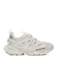 Balenciaga White Track Sneakers