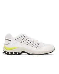 Salomon White Xa Comp Adv Sneakers