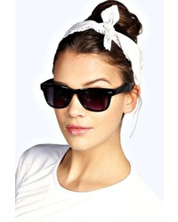 Boohoo Amy Bandana Print Headscarf Neckerchief