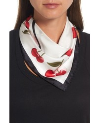 New york cherry silk bandana medium 5259935