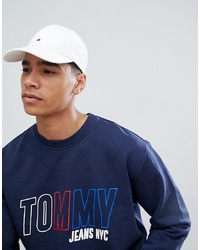 Tommy Hilfiger Classic Flag Baseball Cap In White