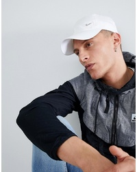 Nike Metal Swoosh Cap In White 943092 100