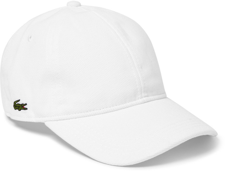 ... Lacoste Tennis Performance Cotton Baseball Cap ... 32120c5d437