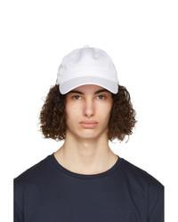 Lacoste White Sport Lightweight Cap