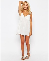 ab446b4a14 Asos Lace Cup Babydoll Beach Dress, $40 | Asos | Lookastic.com