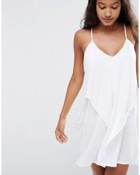 621d9e66e9 Asos Layered Drape Jersey Beach Dress, $28 | Asos | Lookastic.com