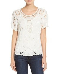 Willow & Clay Ladder Stitch Beaded Top
