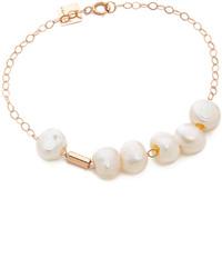 ginette_ny Cultured Freshwater Pearl Tube Bracelet