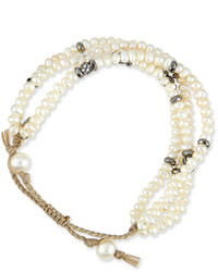 Tai Mother Of Pearl Multi Strand Bracelet