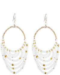 Nakamol Layered Beaded Drop Earrings