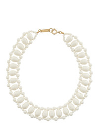 Isabel Marant White Malawi Necklace
