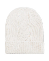 Majestic Filatures Cable Knit Wool And Cashmere Blend Beanie